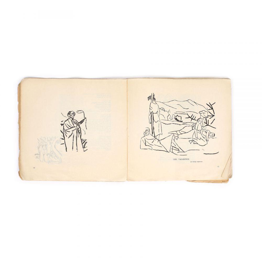 """""""De vorbă cu mine însu-mi"""", de Ion Minulescu, cu desene de Iosif Iser, 1913 (1)"""