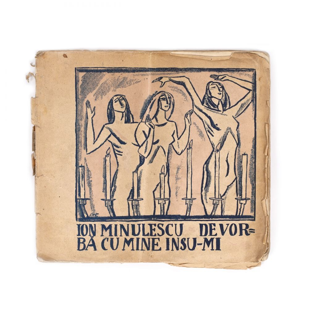 """""""De vorbă cu mine însu-mi"""", de Ion Minulescu, cu desene de Iosif Iser, 1913"""