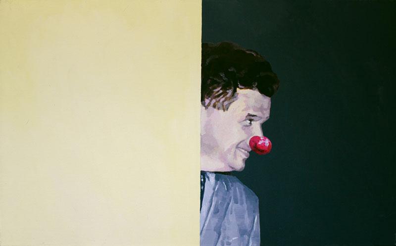 Dragos Burlacu, U.H.8 , 2009,oil on canvas, 50 x 80cm