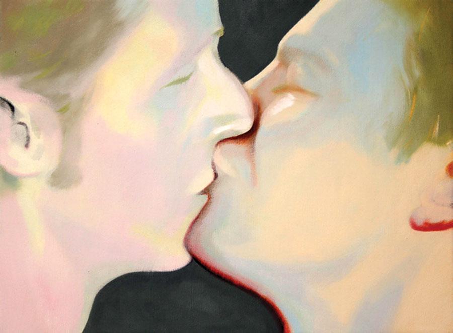 Dragos Burlacu, Open your eyes, 2011, oil on canvas, 30 x 40cm
