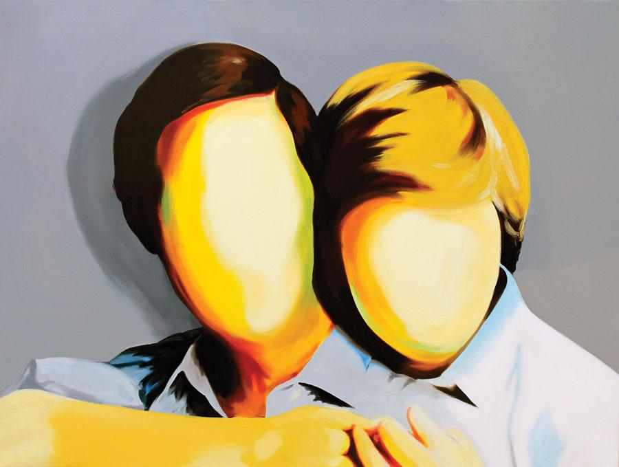 Royal couple, 2011, oil on cavas, 87 x 116cm