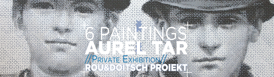 6 techno paintings în Computing Age in preview space Bucharest