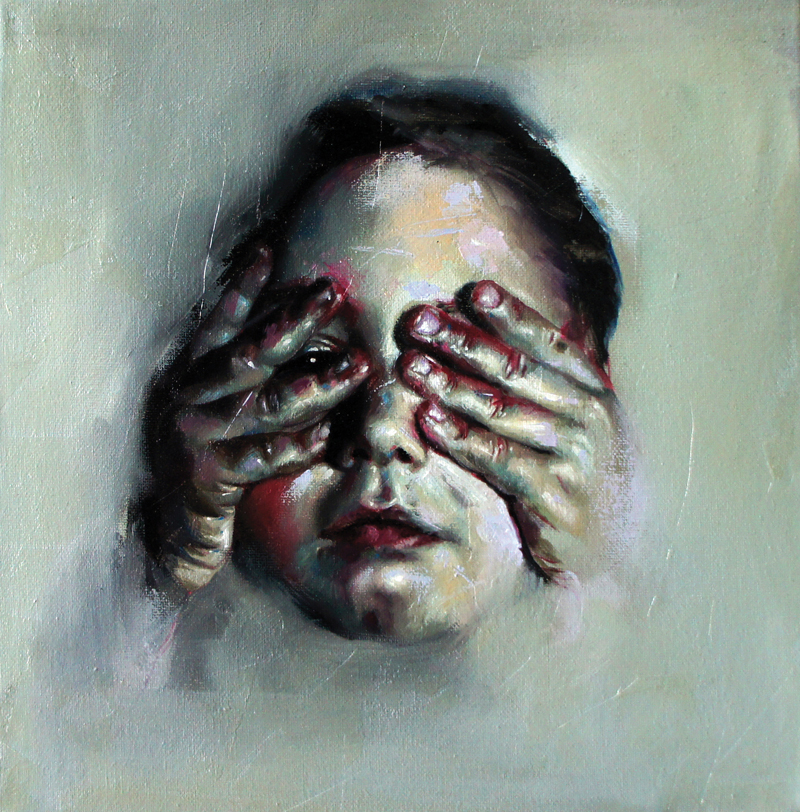 Flavia Pitis, hope filter, oil on canvas, 30x30cm, 2011