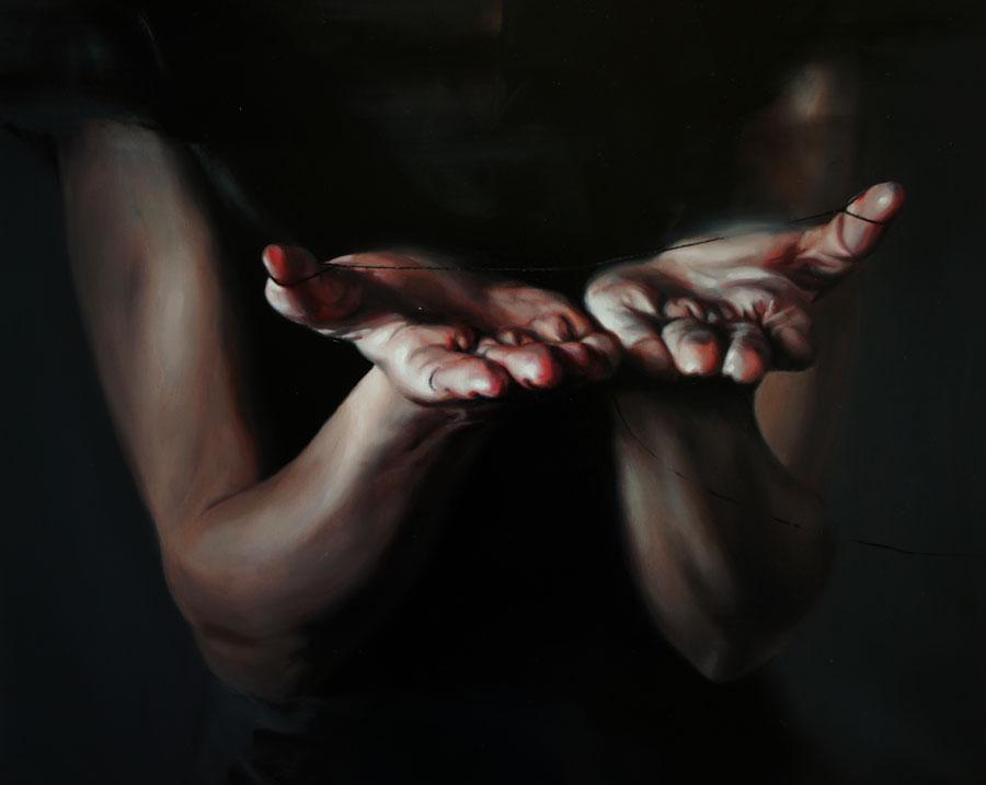 Flavia Pitis, Spontaneous events of life II, 2012, oil on canvas,40x50cm