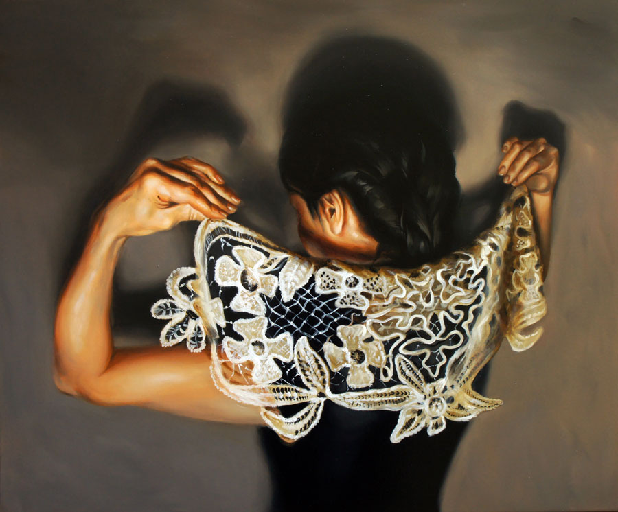 Flavia Pitis, As safe as never before, 2012, oil on canvas, 50x60cm