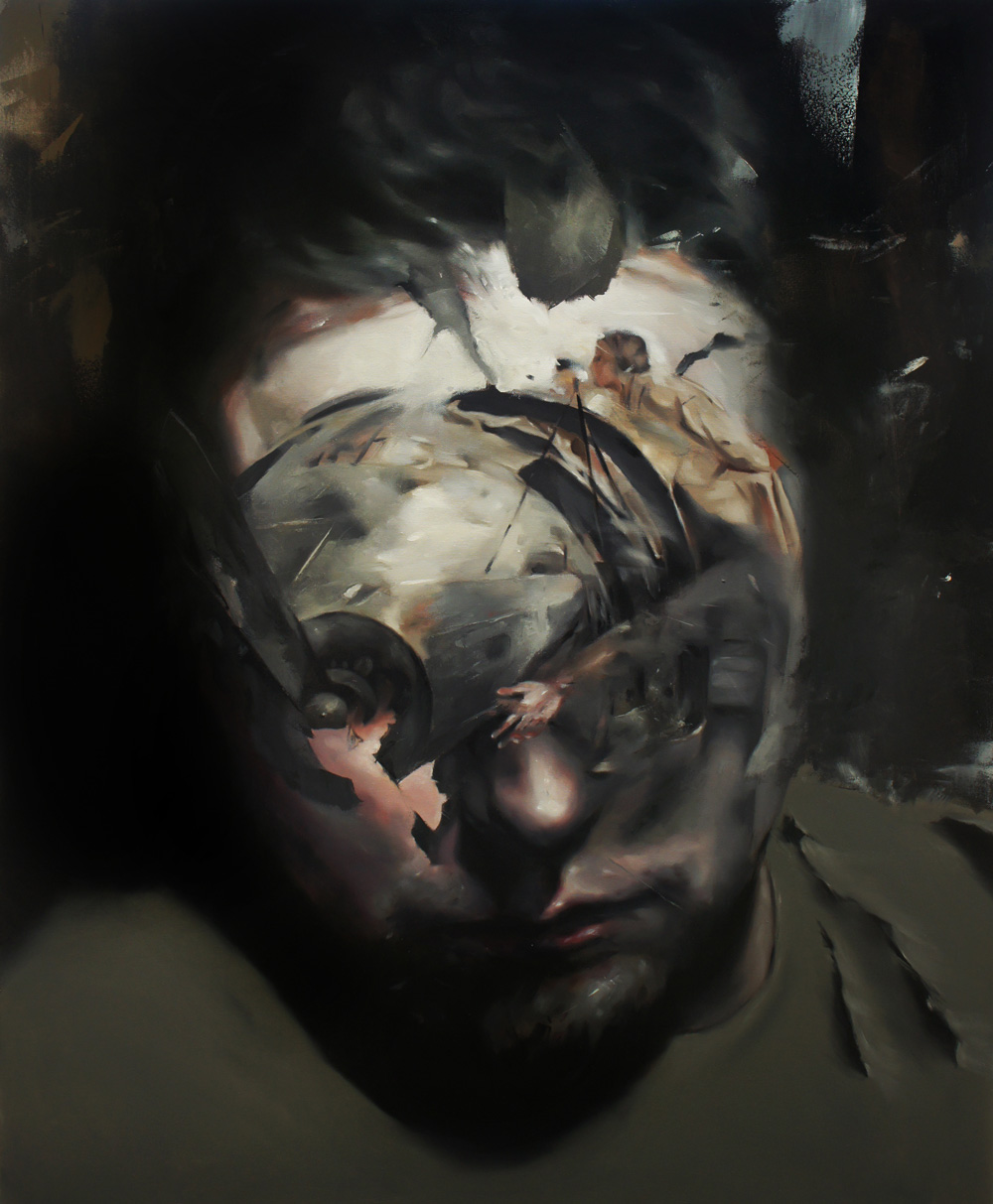 Flavia Pitis, Real time, 2013, oil on canvas, 120x140cm