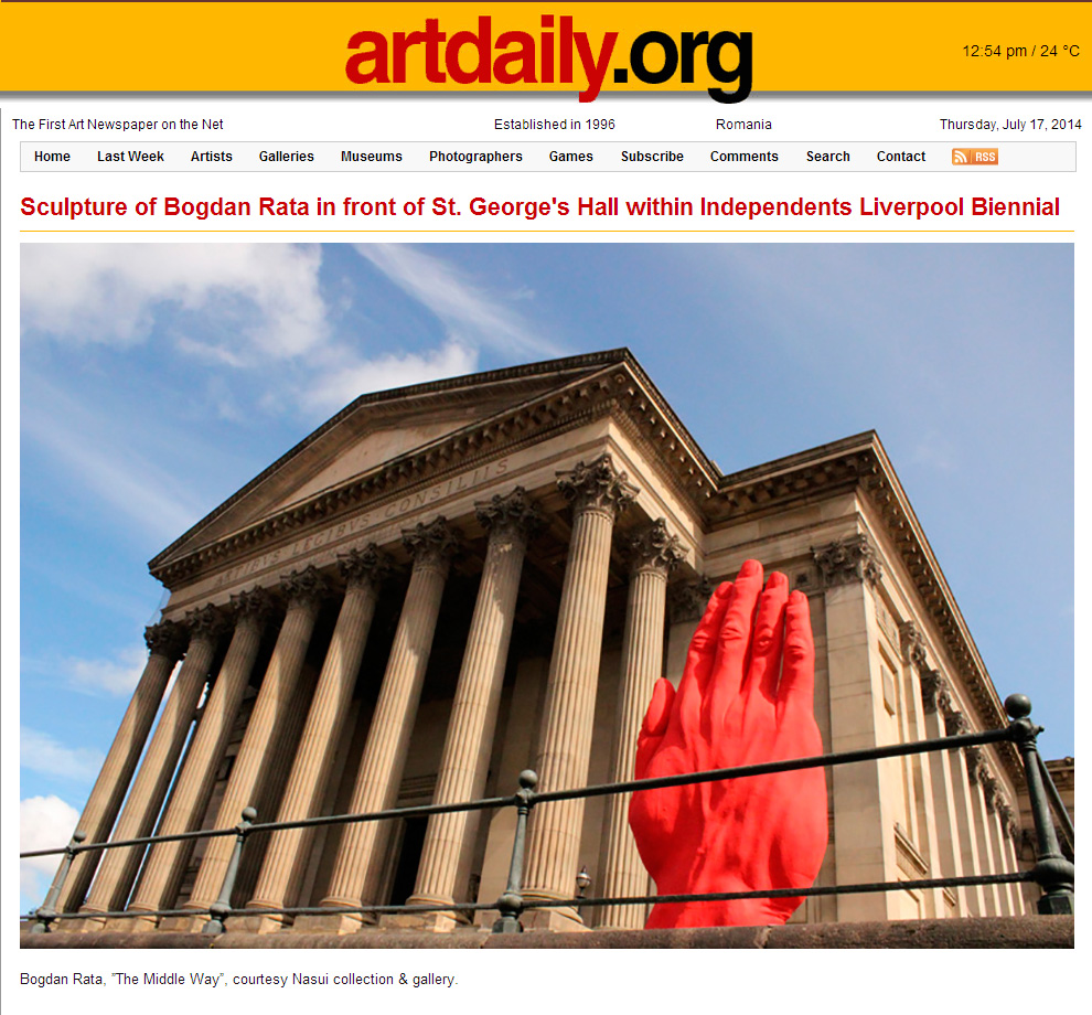 Artdaily.org, July 17, 2014