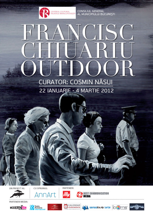"Francisc Chiuariu, ""Outdoor"", Bucharest"