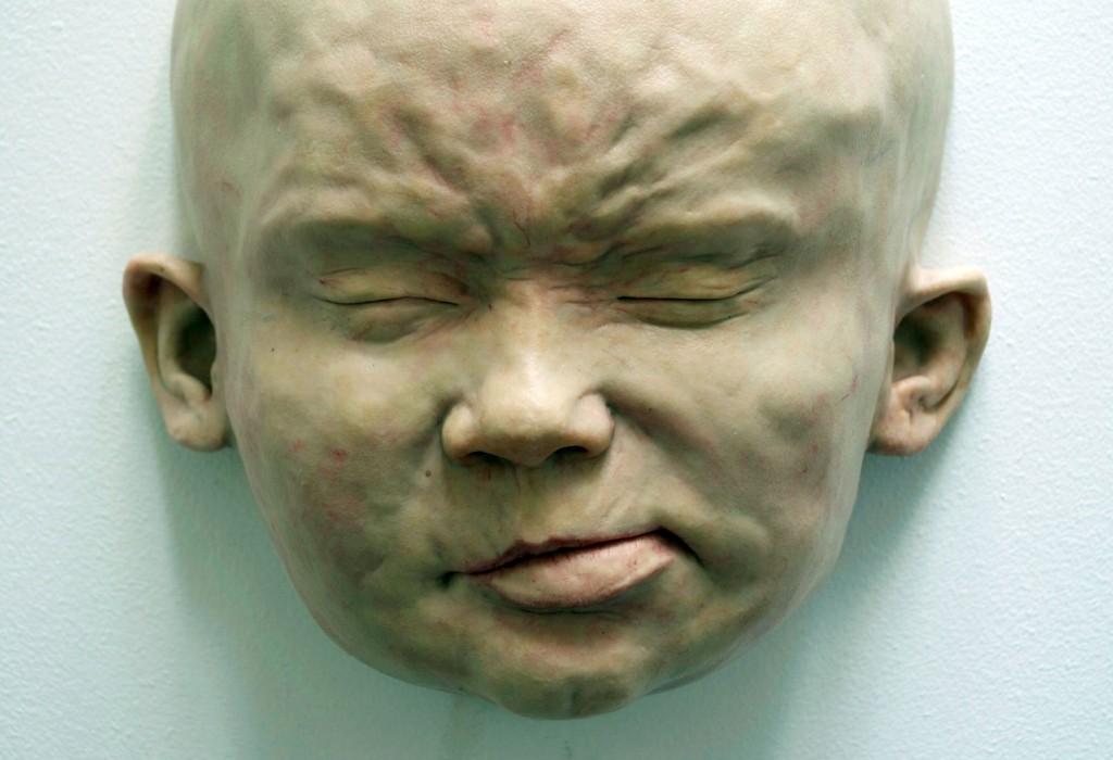 "Felix Deac, ""Plastic existence 3"", 2015, Sculpture, Mixed Media, 32×20×30 cm (HxWxD) - detail"