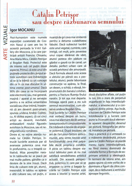 Accent cultural, dec. 2011