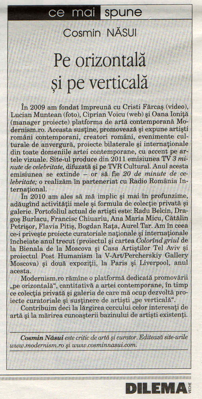 Dilema Veche 26 ian.-1 feb. 2012