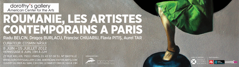 Roumanie, les artistes contemporains a Paris