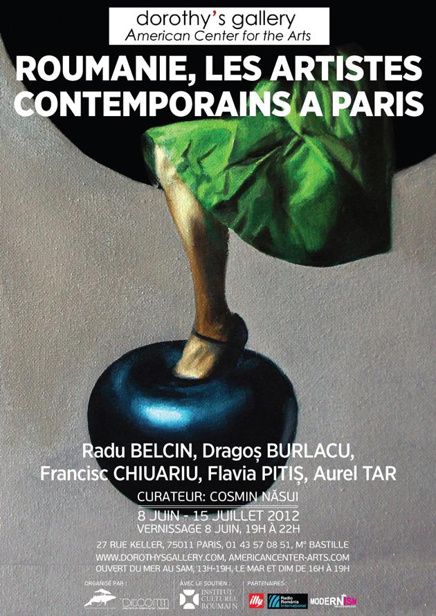 roumanie, les artistes contemporains a paris