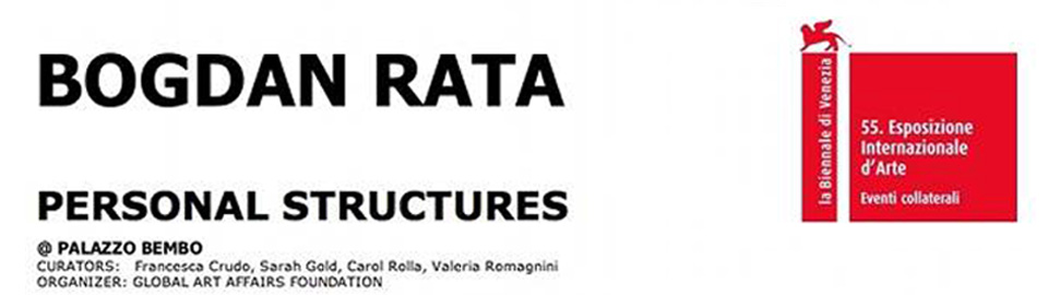 Bogdan Rata in the 55th edition of the Venice Biennale