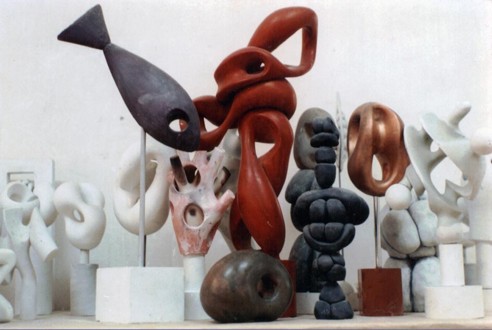 Gabriel Kelemen, Studio image