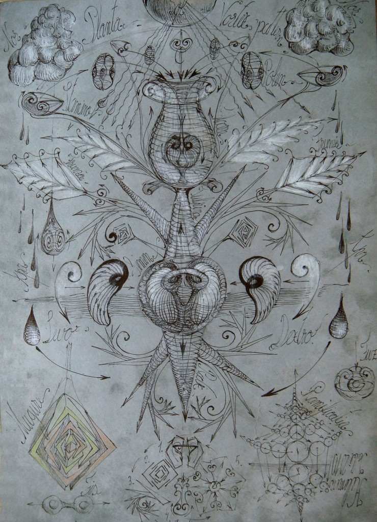 Gabriel Kelemen, Universal Sphere-Vortex Principium Theory, 4 Plant and water cycle depicting the relationship convection-area-Sphere-Vortex-language