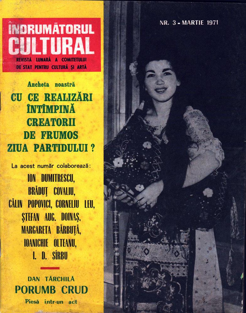 Îndrumătorul Cultural nr 3 martie 1971