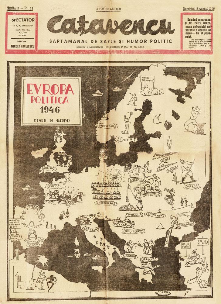 Catavencu, august 1946