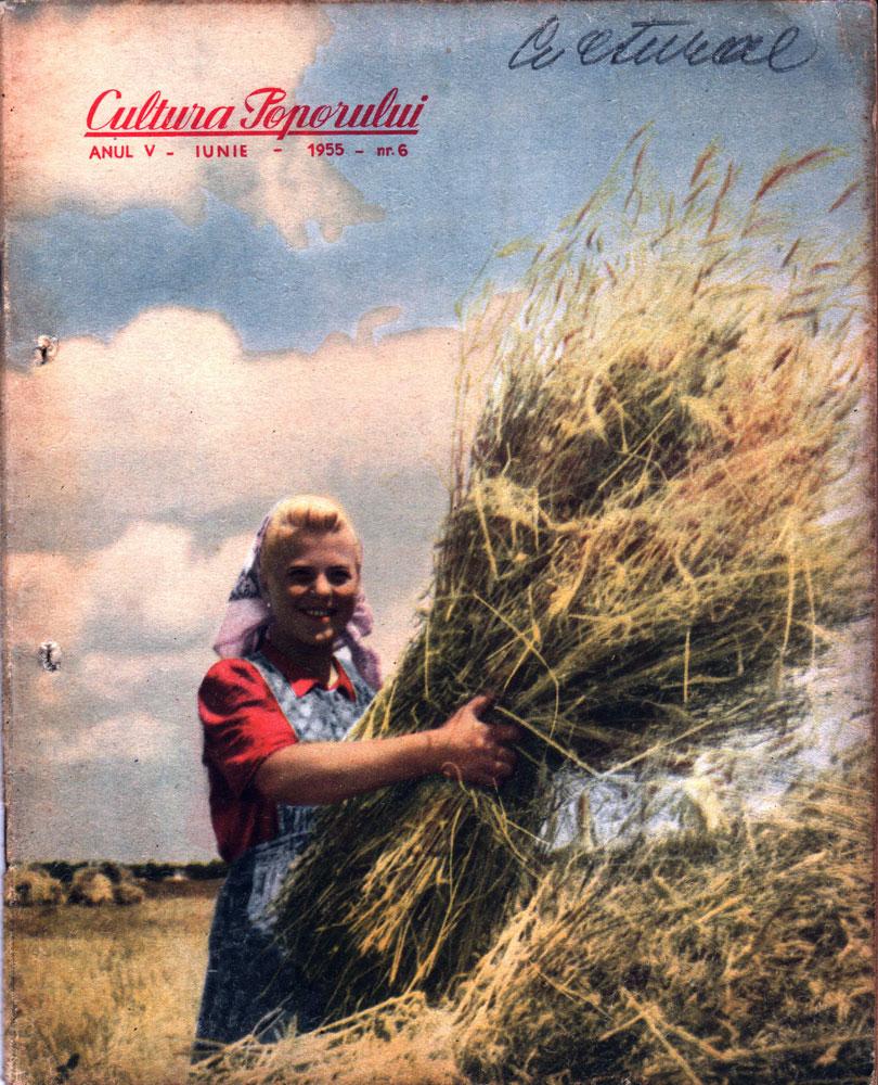 Cultura poporului nr 6 iunie 1955