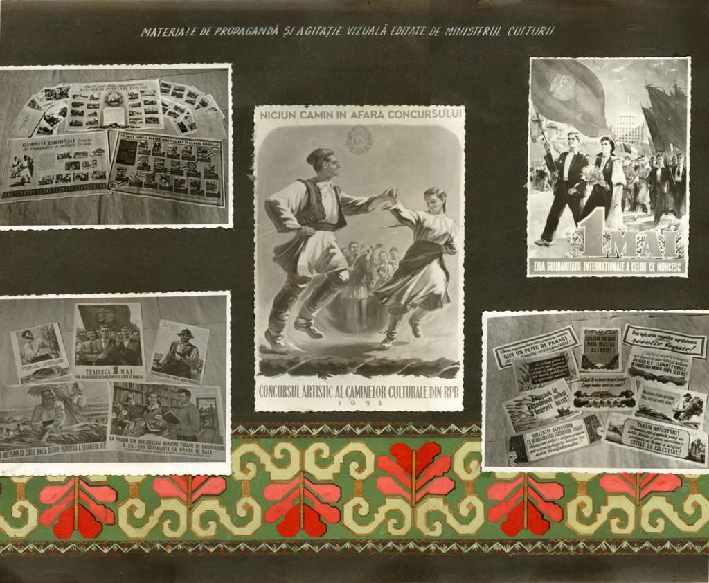 Materiale de propaganda si agitatie vizuala 34x27,5cm