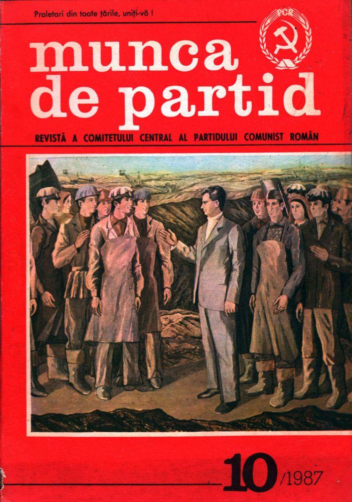 Munca de partid, nr 10 1987