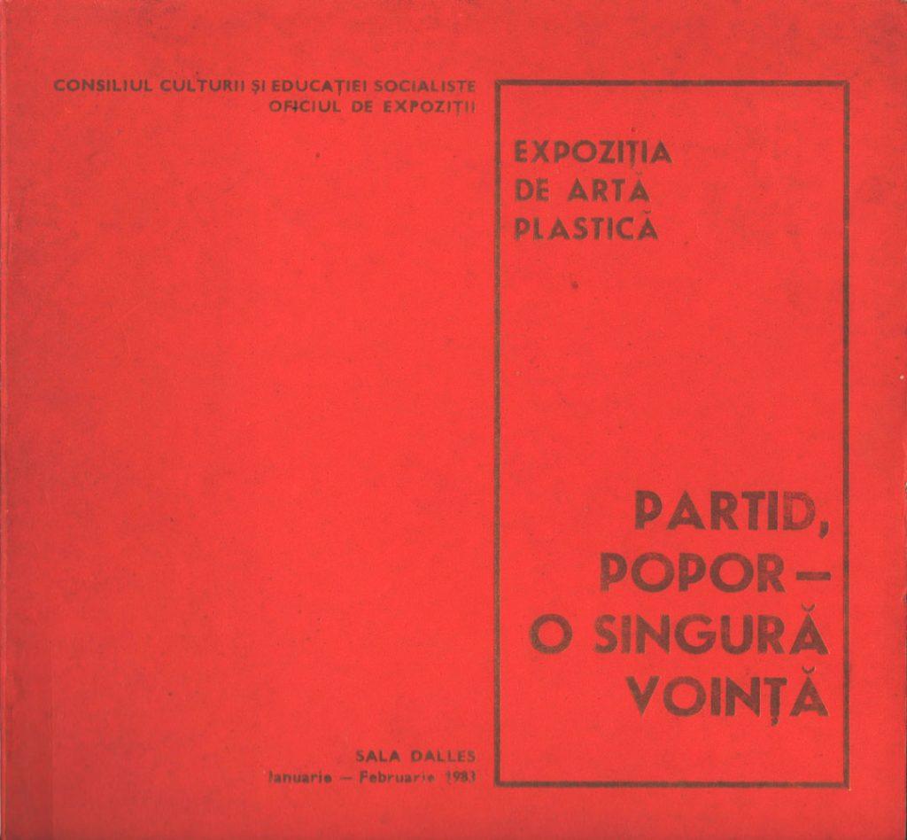 Partid Popor - o singura vointa, Sala Dalles, ian-febr 1983