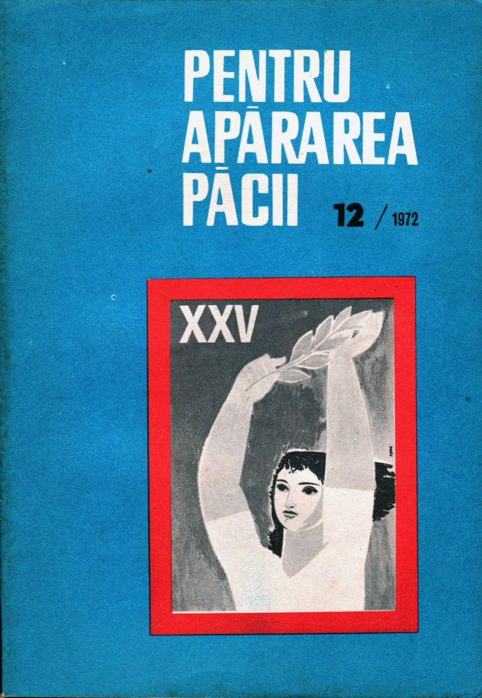 Pentru Apărarea Păcii nr 12 1972