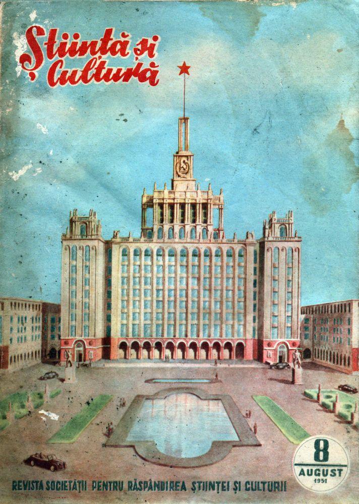 Stiinta si cultura nr 8 august 1951
