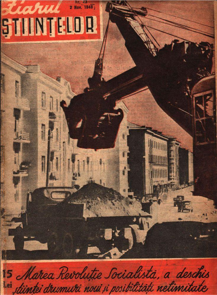 Ziarul stiintelor, nr 43, 2 nov, 1948