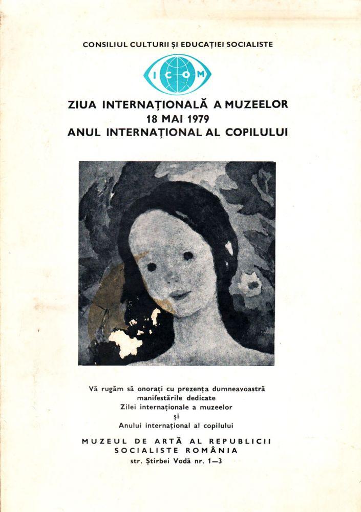 Anul international al copilului Muzeul de Arta RSR 1979