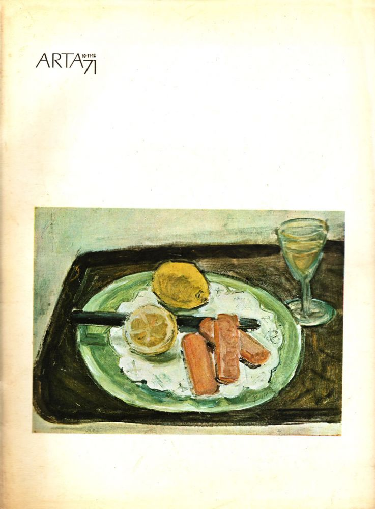 Arta nr 10-11-12, 1971