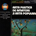 Arta plastica de amatori si arta populara, Editura Meridiane, 1983