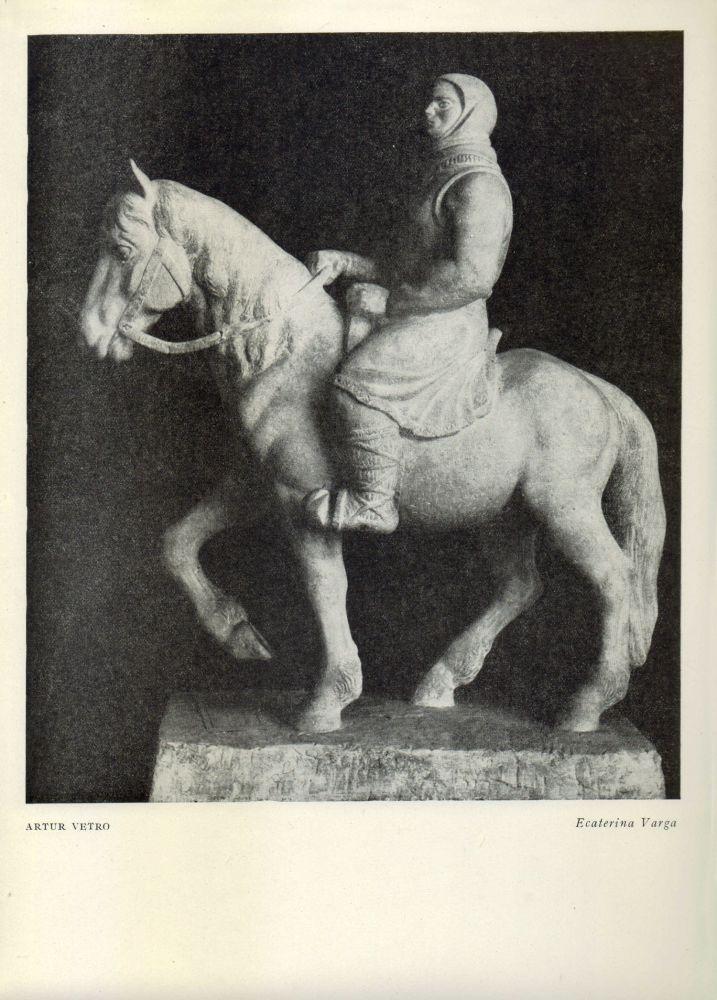 Arthur Vetro, Monumentul lui Ecaterina Varga, București, 1960, fine art print from 1957