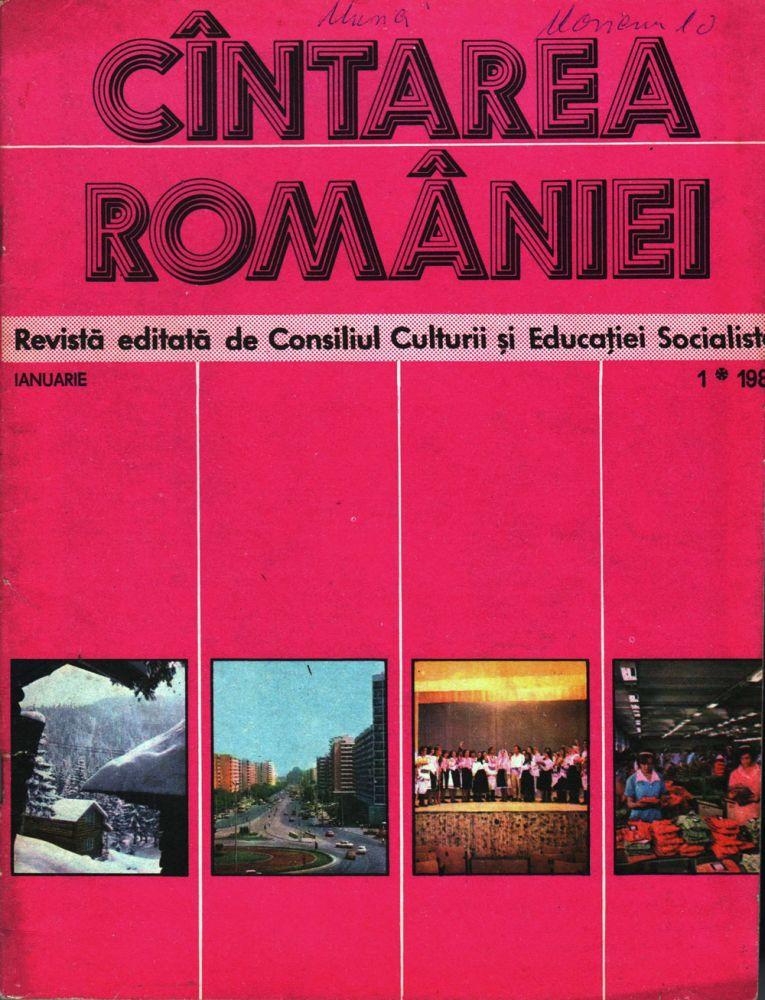 Cintarea Romaniei, ianuarie 1981