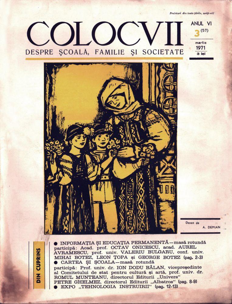 Colocvii nr 3 1971
