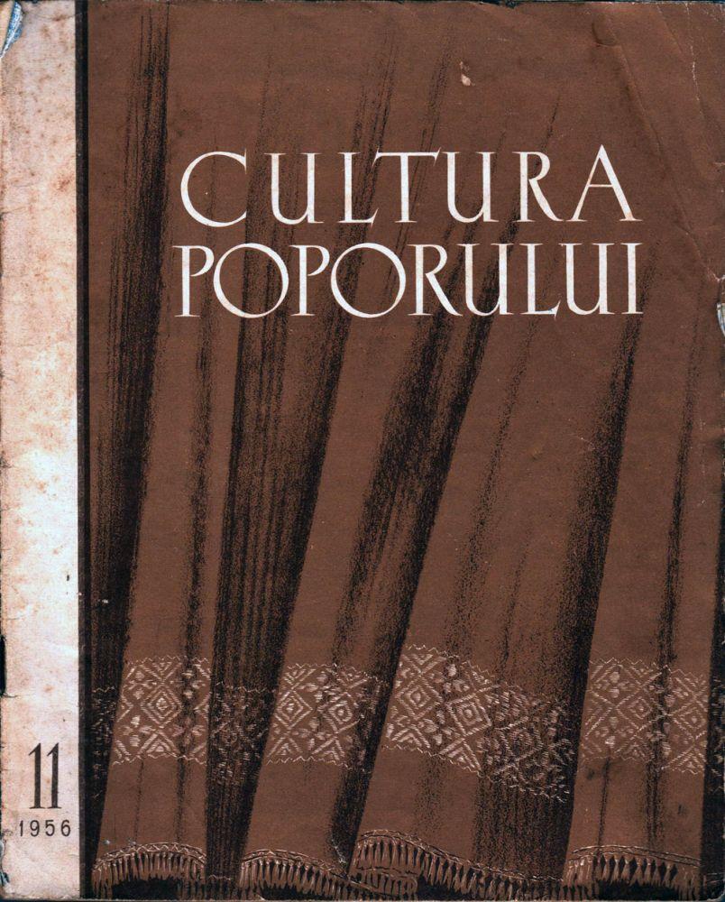 Cultura poporului nr 11 1956