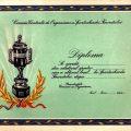 Diploma Spartachiada tineretului