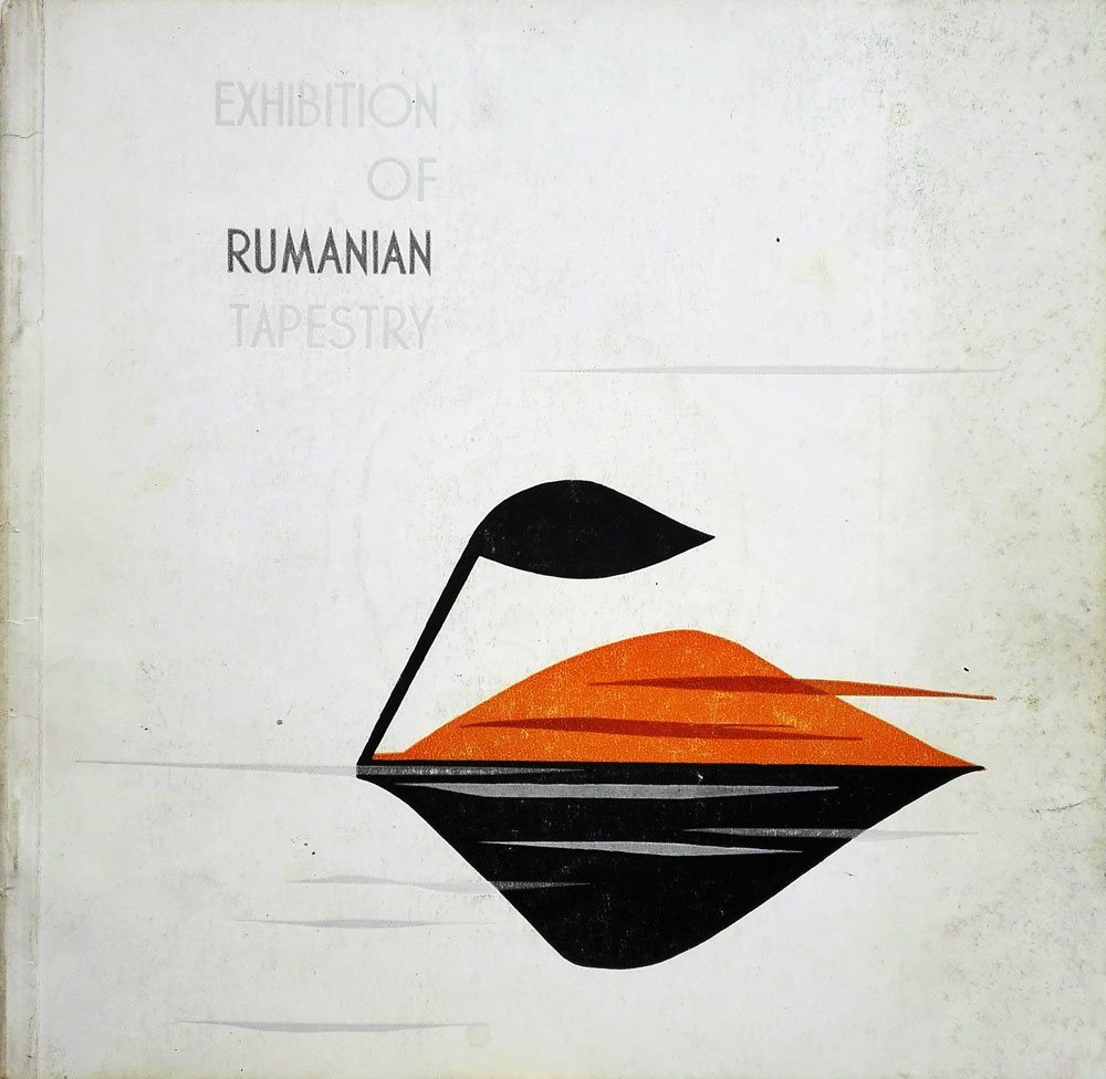 Exhibition of Rumanian Tapestry, la Washington, Arta Grafica, 1965