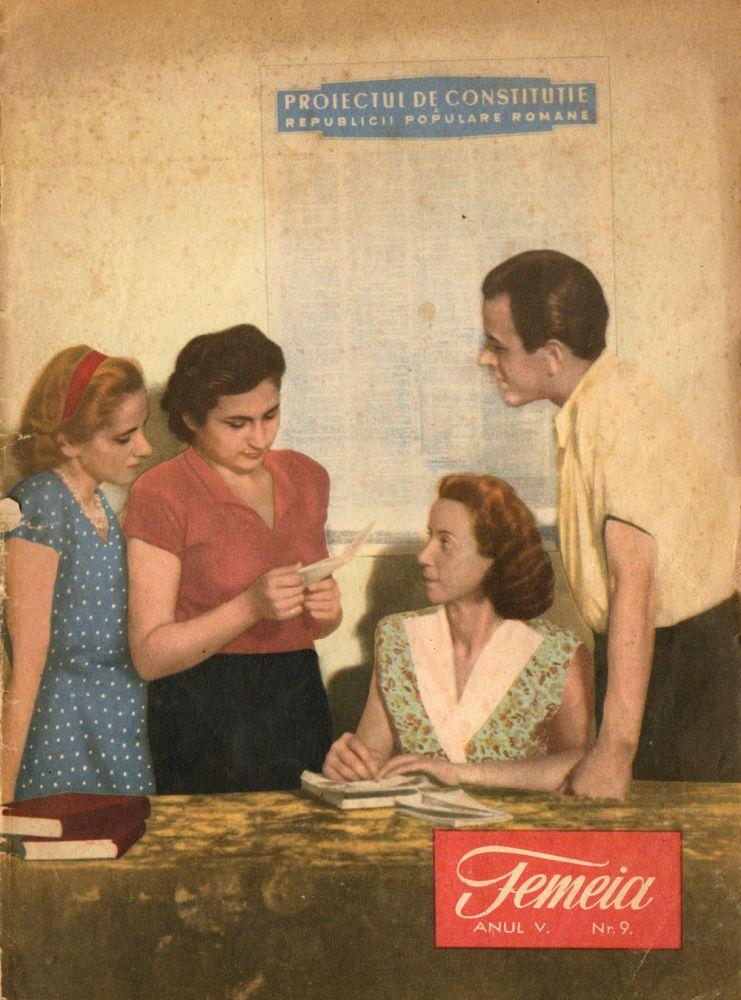 Femeia, septembrie 1952