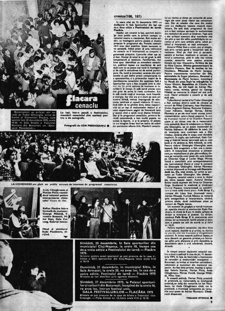 Flacara 20 decembrie 1975