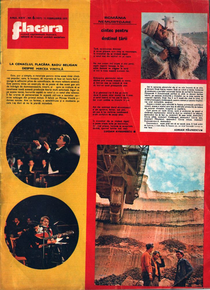Flacara februarie 1975