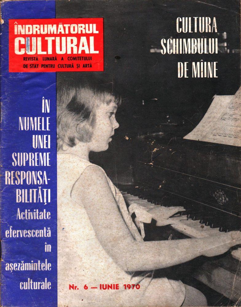 Indrumatorul cultural iunie 1970