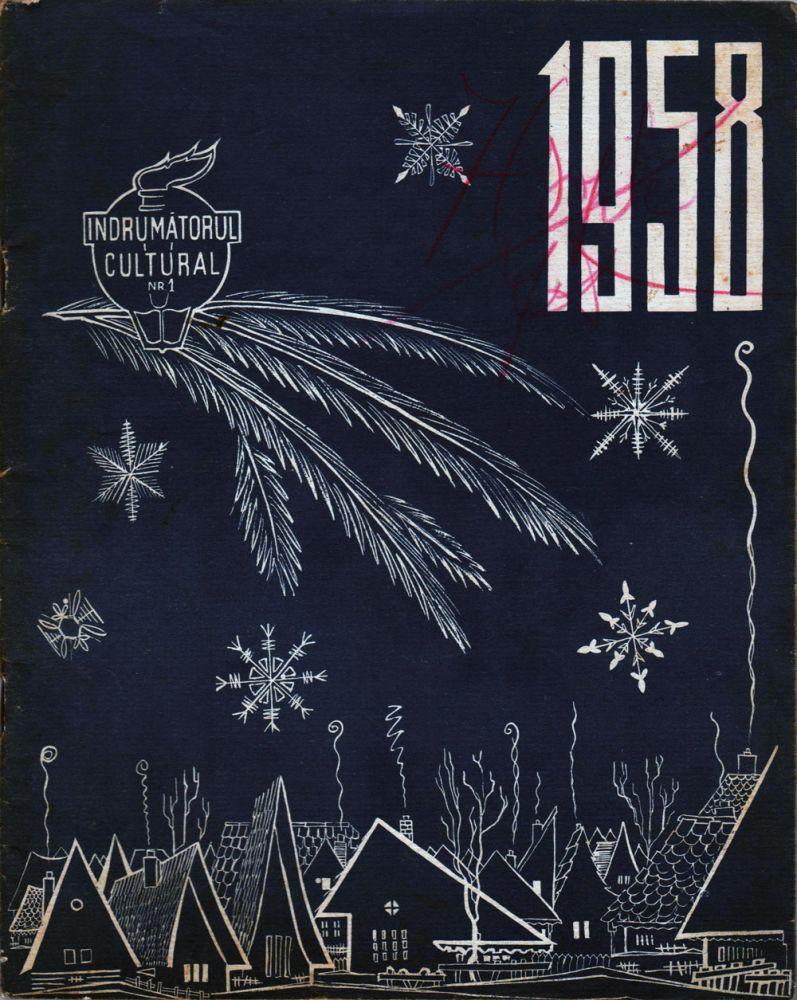 Indrumatorul cultural nr 1 1958