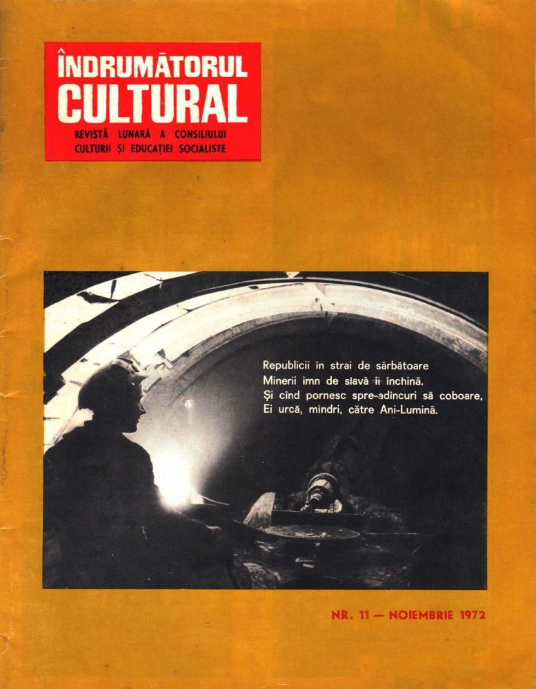 Indrumatorul cultural nr 11 1972
