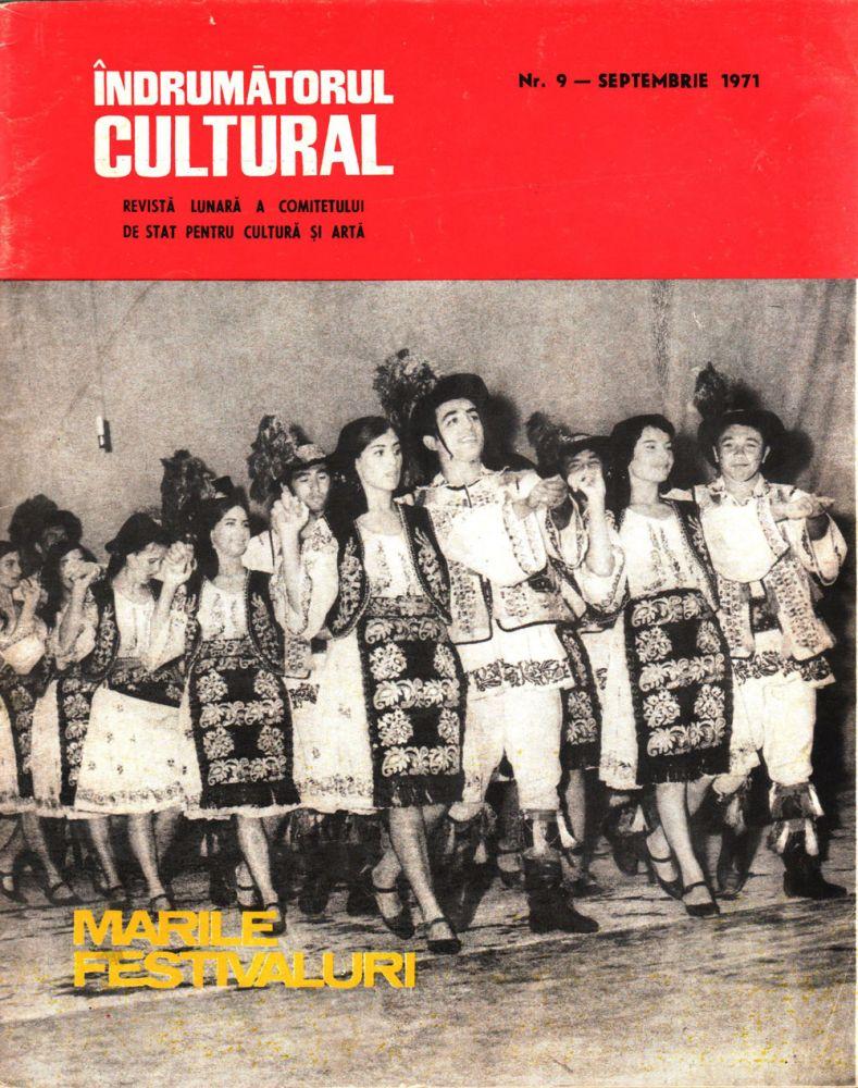 Indrumatorul cultural nr 9 septembrie 1971