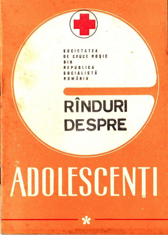 Rinduri despre Adolescenti, Editura Medicala, 1974
