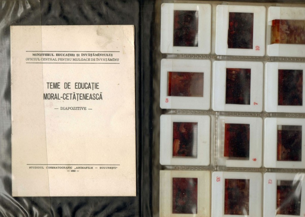 Teme de educatie moral-cetateneasca, Animafilm, 1983, 70 diapozitive