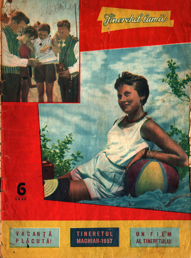 Tineretul lumii nr 6 1957