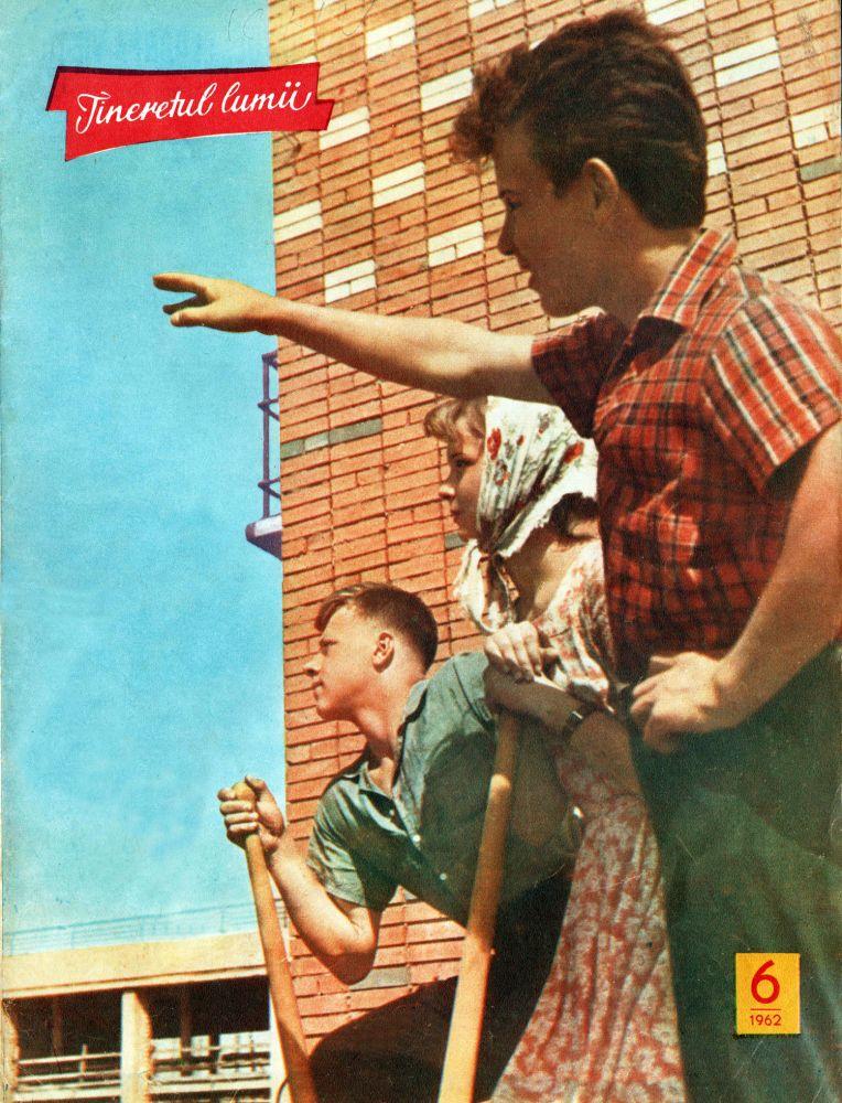 Tineretul lumii, nr 6, 1962
