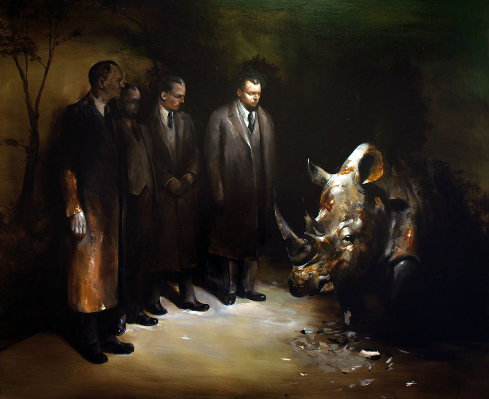 Unfulfilled hopes, oil on linen, 2013, 120x100cm